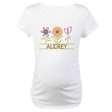 Audrey with cute flowers Shirt