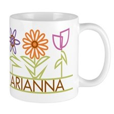 Arianna with cute flowers Mug