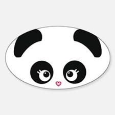 Love Panda® Sticker (Oval)