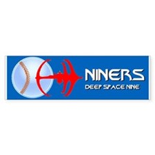 DS Niners Bumper Bumper Sticker Bumper Bumper Sticker