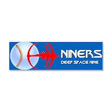 Cute Niners Car Magnet 10 x 3