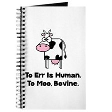 To Moo Bovine Journal