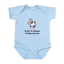 To Moo Bovine Infant Bodysuit