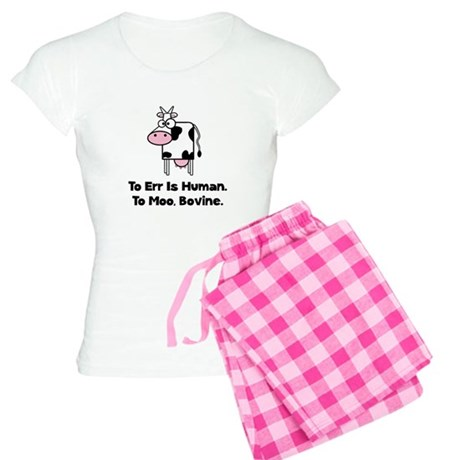 To Moo Bovine Women's Light Pajamas