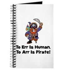 To Arr Is Pirate Cartoon Journal