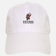 To Arr Is Pirate Cartoon Baseball Baseball Cap