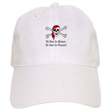 To Arr Is Pirate Skull Baseball Cap