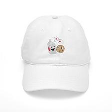 Milk & Cookie Baseball Baseball Cap