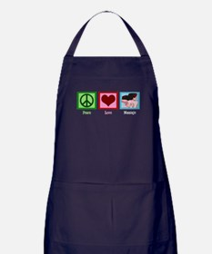 Peace Love Massage Apron (dark)