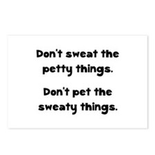 Don't Sweat Things Postcards (Package of 8)