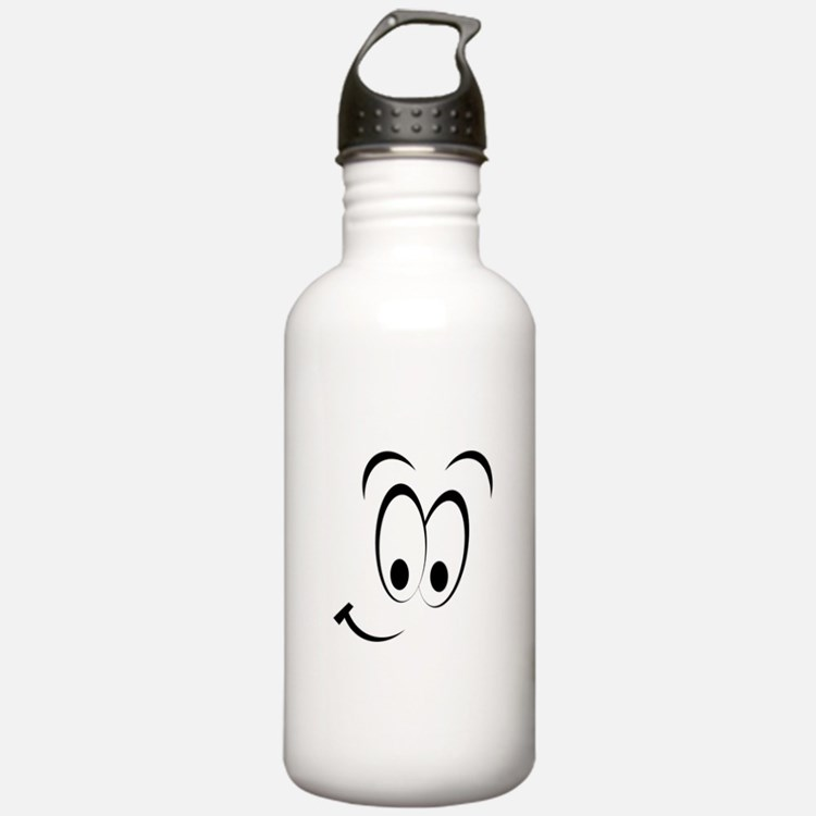 Cartoon Smile Water Bottle