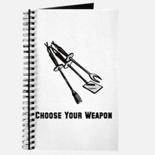 Choose Your Weapon Grill Journal