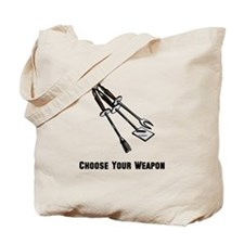 Choose Your Weapon Grill Tote Bag