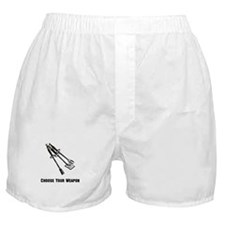 Choose Your Weapon Grill Boxer Shorts