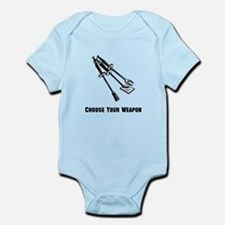 Choose Your Weapon Grill Infant Bodysuit
