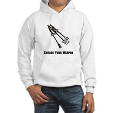Choose Your Weapon Grill Hoodie