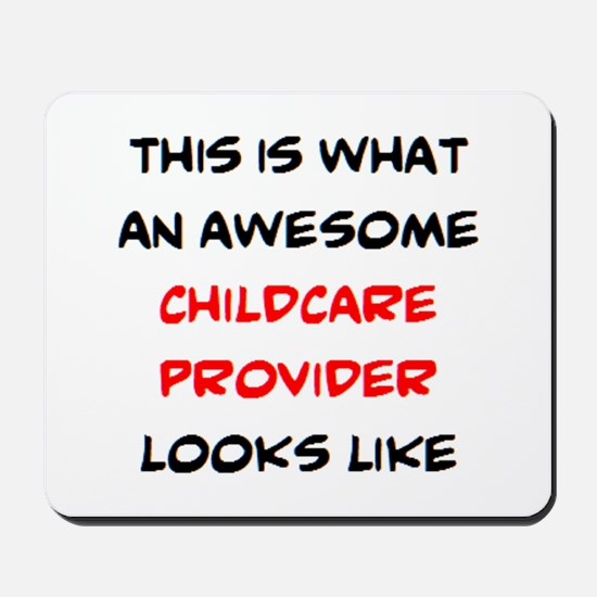 awesome childcare provider Mousepad