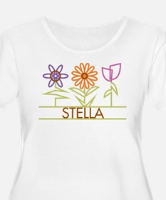 Stella with cute flowers T-Shirt