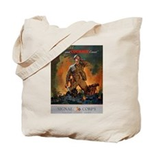 Army Skill and Courage Tote Bag