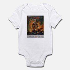Army Skill and Courage Infant Creeper