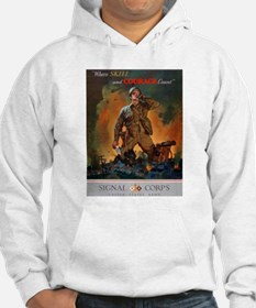 Army Skill and Courage (Front) Jumper Hoody