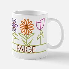 Paige with cute flowers Mug