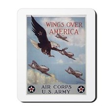 Wings Over America Air Corps Mousepad