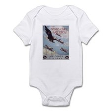 Wings Over America Air Corps Infant Creeper