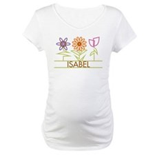 Isabel with cute flowers Shirt