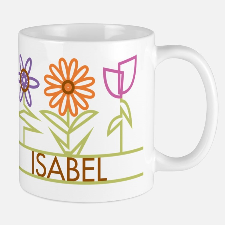 Isabel with cute flowers Mug