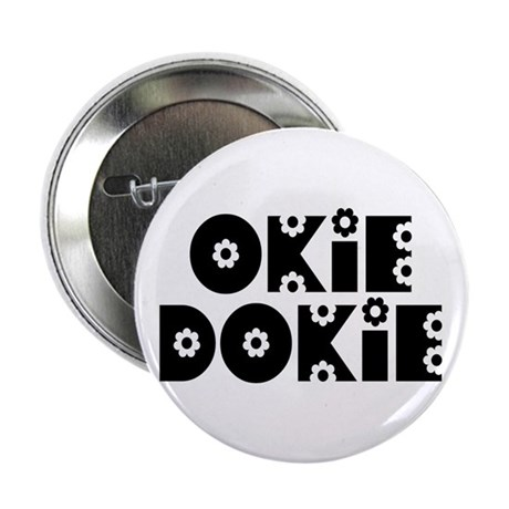 "OkieDokie_Do_Black 2.25"" Button (10 pack)"