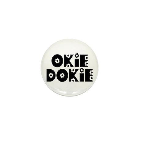 OkieDokie_Do_Black Mini Button (100 pack)