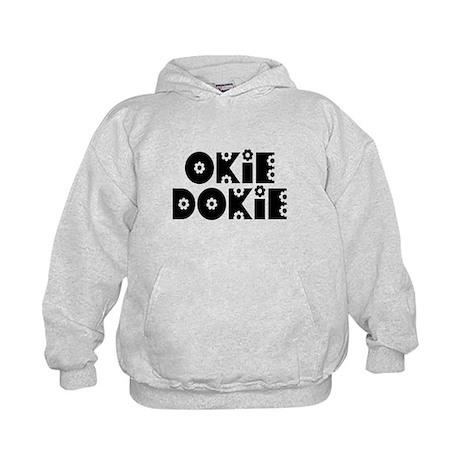 OkieDokie_Do_Black Kids Hoodie