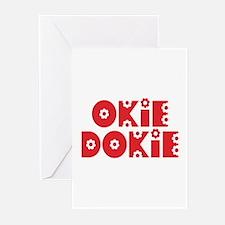 OkieDokie_Re_Red Greeting Cards (Pk of 20)