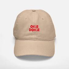 OkieDokie_Re_Red Baseball Baseball Cap