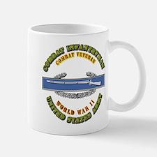 Army - CIB - 1st Award - WWII Mug
