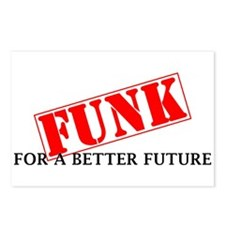 Funk For A Better Future Postcards (Package of 8)