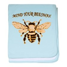 MIND YOUR BEESWAX baby blanket