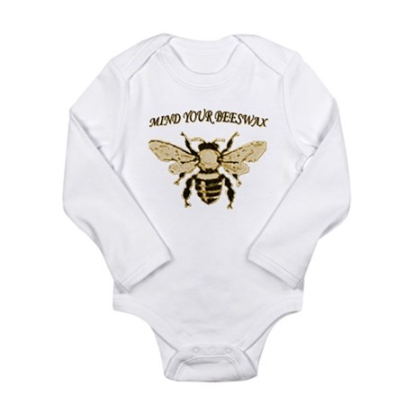 MIND YOUR BEESWAX Long Sleeve Infant Bodysuit