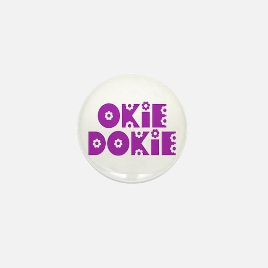 OkieDokie_So_Purple Mini Button
