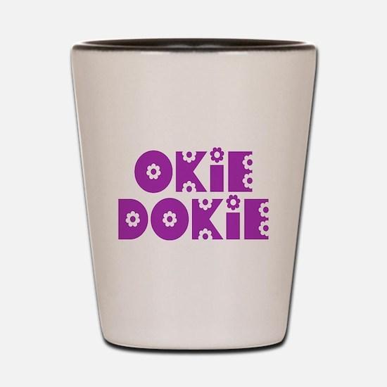 OkieDokie_So_Purple Shot Glass