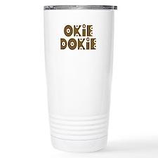 OkieDokie_Ti_Brown Travel Mug