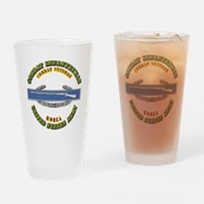 Army - CIB - 1st Award - Korea Drinking Glass