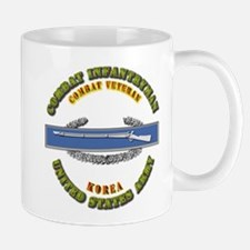 Army - CIB - 1st Award - Korea Mug