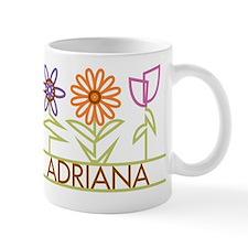 Adriana with cute flowers Mug