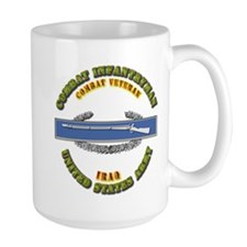 Army - CIB - 1st Award - Iraq Mug