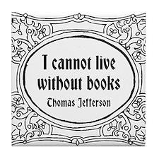 Thomas Jefferson Tile Coaster