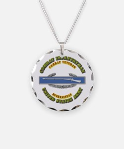 Army - CIB - 1st Award - Afghanistan Necklace