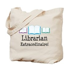 Librarian (Extraordinaire) Tote Bag