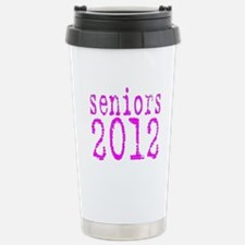 2012 Typo Pink Stainless Steel Travel Mug